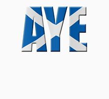Scottish flag Vote Aye Unisex T-Shirt
