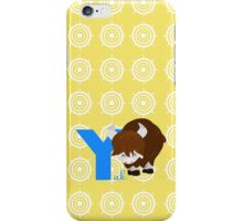 y for yak iPhone Case/Skin