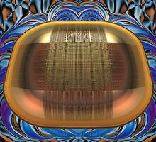 Diffraction Patterns on a Brass Tray by barrowda
