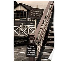 Ramsbottom Station Poster