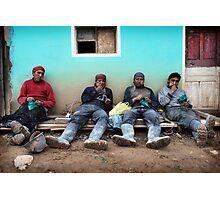 Coca break Photographic Print