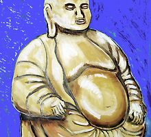 Brass Budha by Woodie