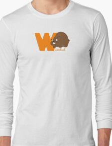 w for wombat Long Sleeve T-Shirt