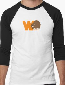 w for wombat Men's Baseball ¾ T-Shirt