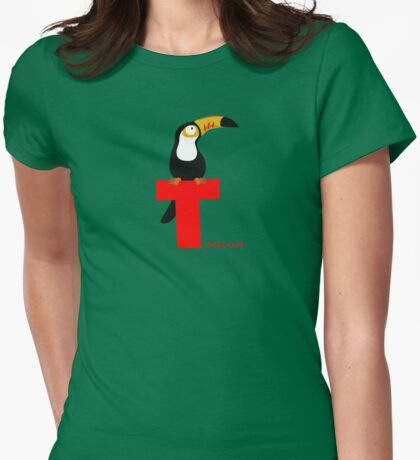 t for toucan Womens Fitted T-Shirt