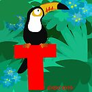 t for toucan by alapapaju