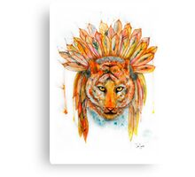 Chief Cat Canvas Print