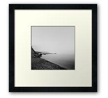 coast lands Framed Print