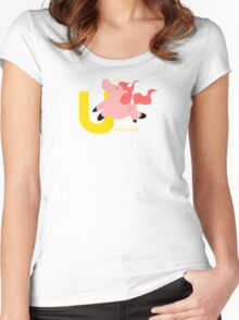 u for unicorn Women's Fitted Scoop T-Shirt