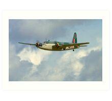 Radio Controlled Wellington Bomber Art Print