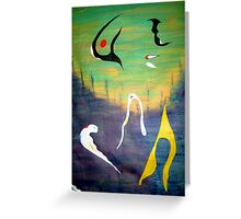 Deep down under Greeting Card