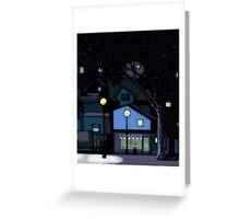 City by night Greeting Card