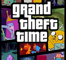 Grand Theft Time by TonyLucazzy