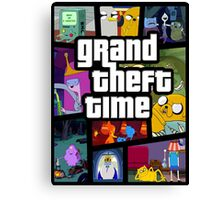 Grand Theft Time Canvas Print