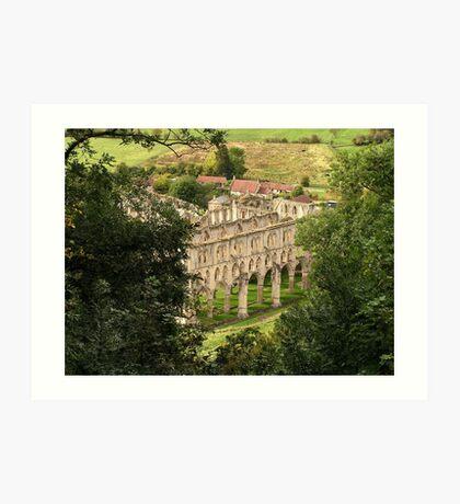 Rievaulx Abbey - North Yorkshire Art Print