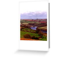 The River Dart in South Devon - 2 Greeting Card