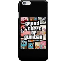 Grand Theft Of Gumball iPhone Case/Skin