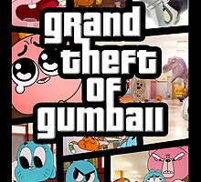Grand Theft Of Gumball by TonyLucazzy