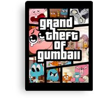 Grand Theft Of Gumball Canvas Print