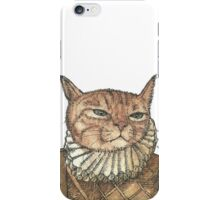 Banjo Cat Face iPhone Case/Skin