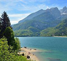 Lago Molveno - Italy by Arie Koene