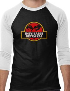 Jurassic Betrayal Men's Baseball ¾ T-Shirt