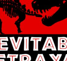Jurassic Betrayal Sticker