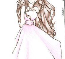 Anime Character by Dakota Mercer