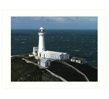 South Stack Lighthouse, Isle of Anglesey Art Print