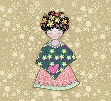 We love you Frida by verogobet