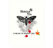 Moriar Tea 5 Art Print