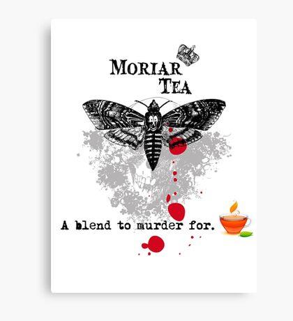 Moriar Tea 5 Canvas Print