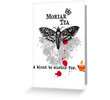 Moriar Tea 5 Greeting Card