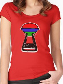 the great aussie barbie Women's Fitted Scoop T-Shirt