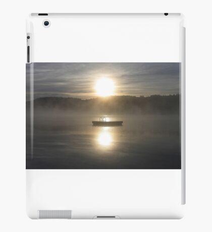 Waiting for fun - Dock on lake iPad Case/Skin