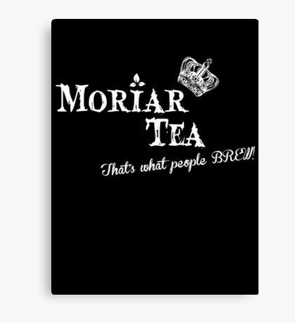 Moriar Tea 4 Canvas Print