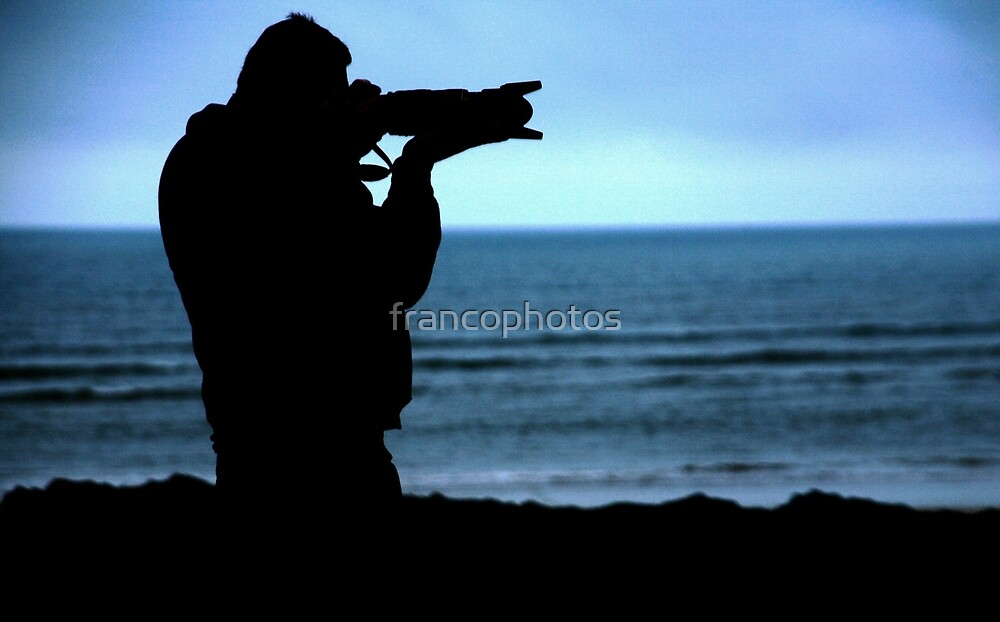 Photographer Silhouette by Franco De Luca Calce