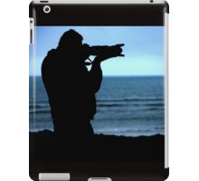 Photographer Silhouette iPad Case/Skin