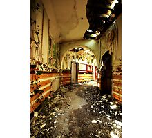 *down corridors* Photographic Print