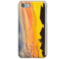 Stormy Sunset in Texas iPhone Case/Skin