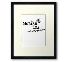 Moriar Tea 3 Framed Print
