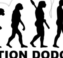 Evolution Dodgeball Sticker