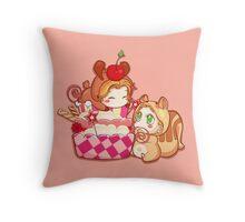 cute J2 cake Throw Pillow