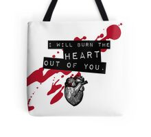 Moriarty - Heart Tote Bag