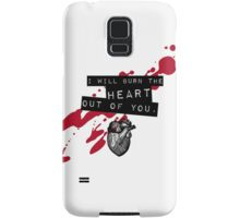 Moriarty - Heart Samsung Galaxy Case/Skin