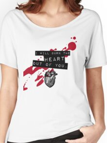 Moriarty - Heart Women's Relaxed Fit T-Shirt