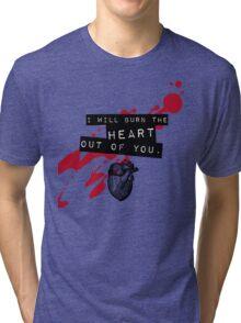 Moriarty - Heart Tri-blend T-Shirt