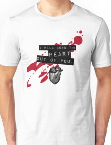 Moriarty - Heart Unisex T-Shirt