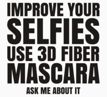 Improve Your Selfies Use 3d Fiber Mascara - Ask me about it. Younique Inspired by munedust