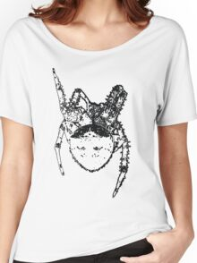 Cat Face Spider  Women's Relaxed Fit T-Shirt